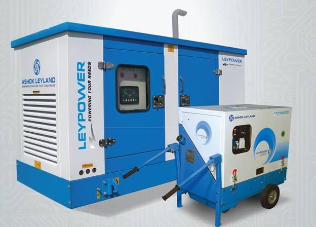 Ashok Leyland Rental Generator